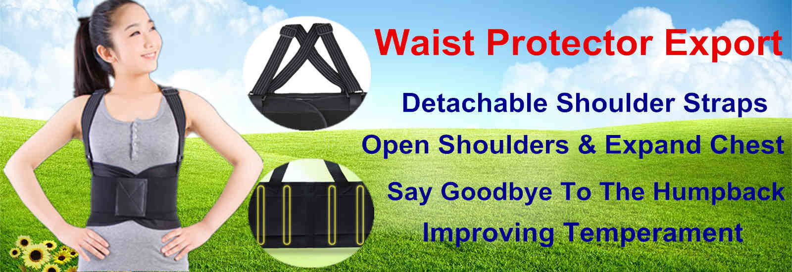 China best Waist Back Support Belt on sales
