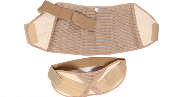 China Flesh Colored Belly Band Support Belt Fetal Position Protection Belt Easy Remove supplier
