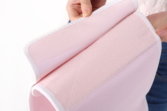 China Soft Pink Color Postpartum Support Belt Uterine Contraction Belly Belt supplier