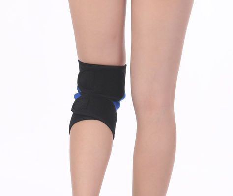 China Outdoor Mountaineering Knee Support Brace / Mechanical Knee Brace Suture Line Uniform supplier