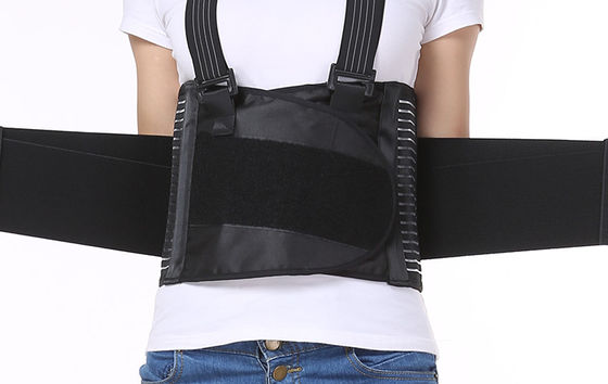 China Black Straightening Lumbar Support Brace / Work Waist Belt Correction Type supplier