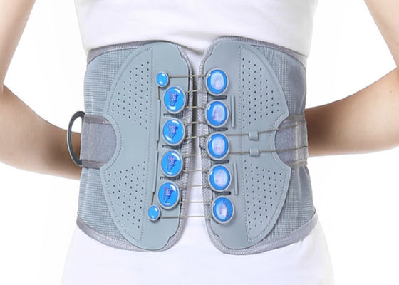 China Woven Fabric Waist Support Belt / Lumbar Support Brace Perfect Fit Body supplier
