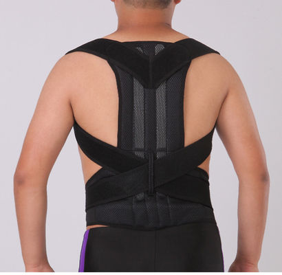 China Medical Scoliosis Humpback Correction Belt / Lower Back Support Belt Spandex Material supplier
