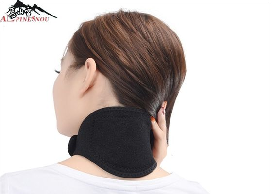 China Black Magnetic Tourmaline Adjustable Magnet Therapy Products Self-heated Neck Support Brace supplier