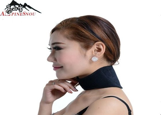 China Magnetic Tourmaline Neck Brace Self-heated Outdoor Hot compress Neck Brace Support supplier