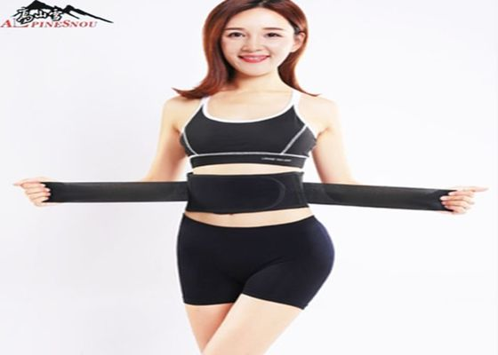 China Tourmaline Self-Heating Warm Waist Back Support Magnetic Therapy Belt Brace supplier