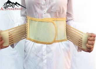 China Tourmaline Self heating Warm Waist Support Belt Magnetic Therapy Belt Brace supplier