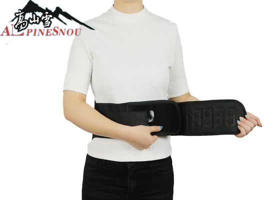 China Dot Matrix Massage Waist Support Belt With Steel Plate S M L XL Size supplier