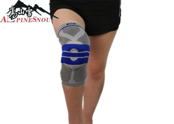 China High Elastic Fabric Sports Protective Gear Knee Brace Sleeve For Outdoor Activities supplier