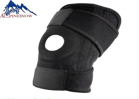 China Adjustable Compression Open Patella Brace Protector Elastic Sports Knee Support For Running supplier