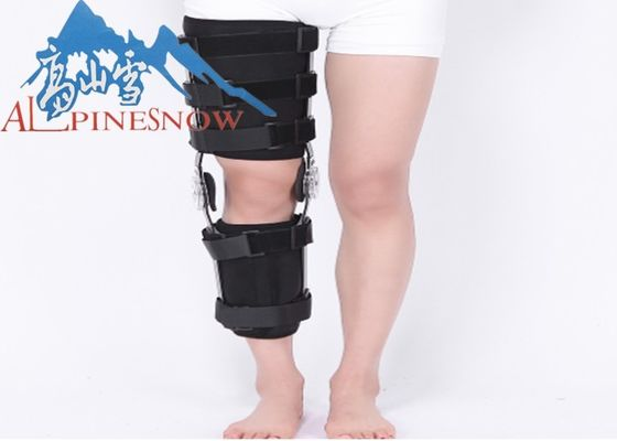 China Medical Post-op Knee Support / Orthopedic Angle Adjustable Rom Neoprene Hinged Knee Brace and Support supplier