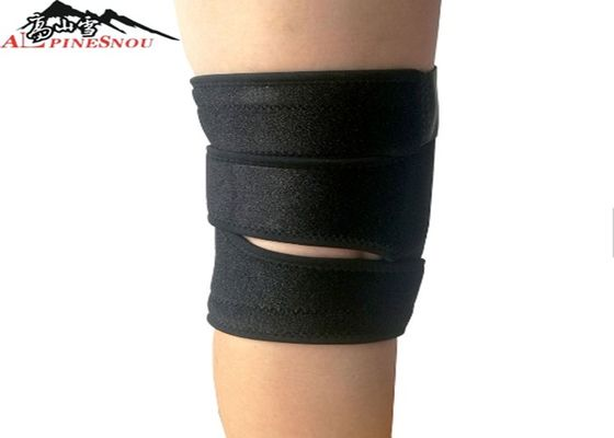 China Soft Sponge Adjustable Athletic Knee Brace For Sports Safety Protection supplier