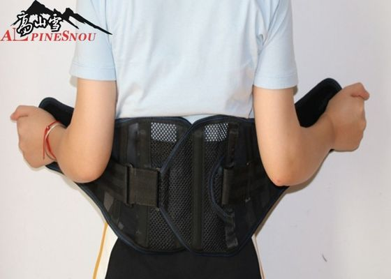 China Brethable Comfortable Waist Back Support Belt For Back Pain Anti - Skid Design supplier
