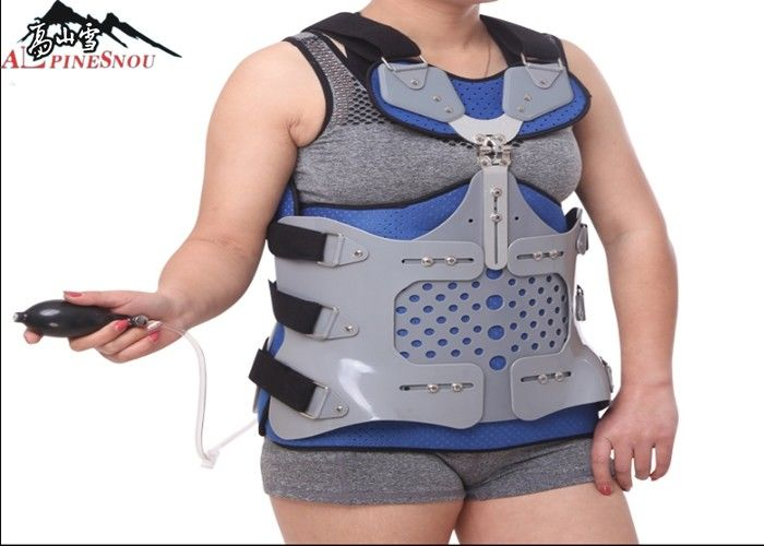 Inflatable Thoracic Spinal Orthosis Lumbar Support Brace For