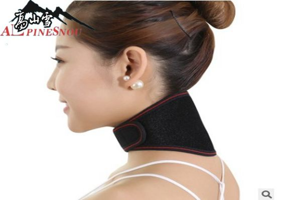 Black Tourmaline Self Heating Neck Pad , Tourmaline Magnetic Therapy Neck Massager