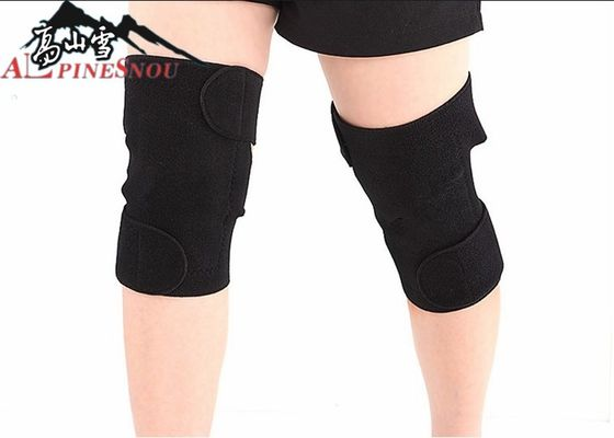 Black Self Heating Knee Pad Warm Knee Joint Heating Leg Guard For Men And Women