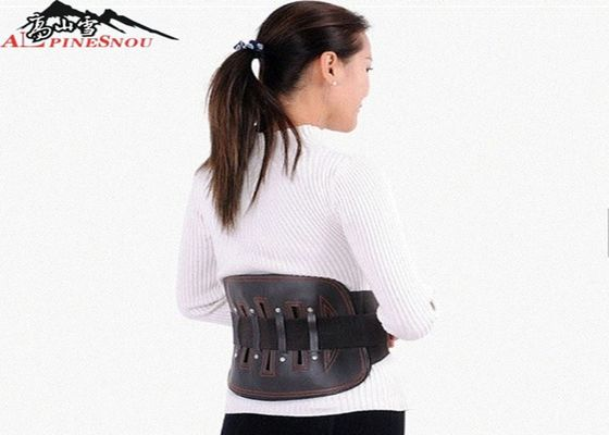 Black Color Lower Back Support Brace For Waist And Back Protection