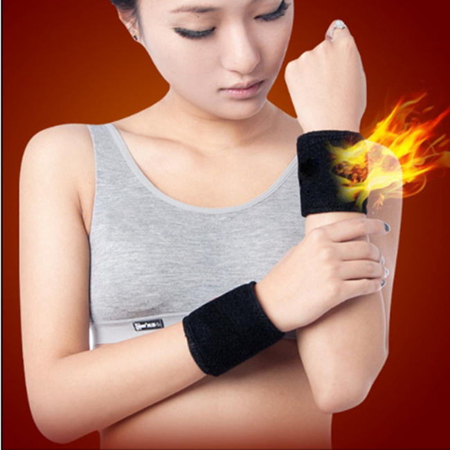 Tourmaline Self-heating Wrist Guard Waterproof Bowling Wrist Support for Typing