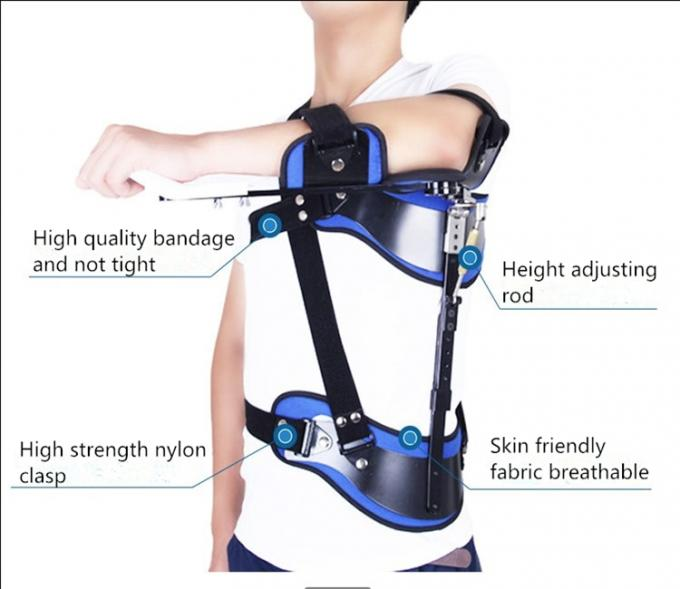 Shoulder Abductor Fixed Support With Medical Grade Fabric And High Strength Titanium Alloy Material