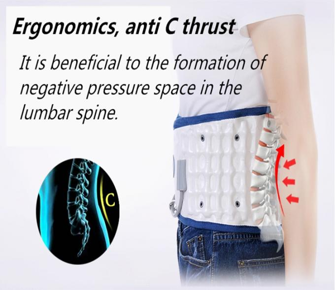 Inflatable Type Lumbar Support Brace Decompressing Spine Strong Pressure