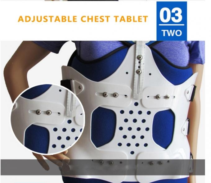 Free Size Comfortable Lumbar Spine Orthosis Adjustable Cervical Neck Brace