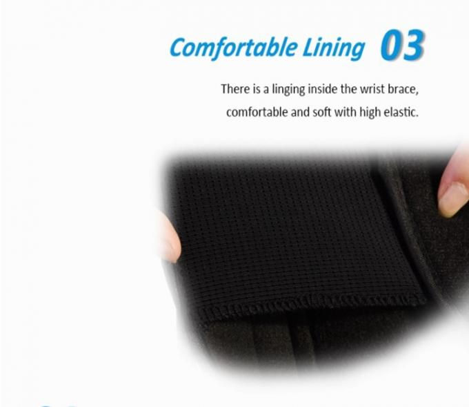 Medical Wrist Splint Support Brace Fractures Carpal Band For Band Strap Protector