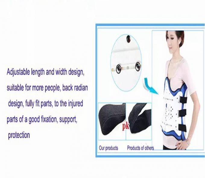 Men And Women Thoracic Orthosis Waist Brace Back Lumbar Support Free size