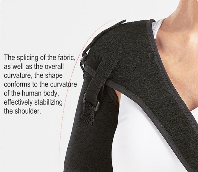 Adjustable Neoprene Shoulder Pads Shoulder Pain Relief Belt For Shoulder Support / Brace