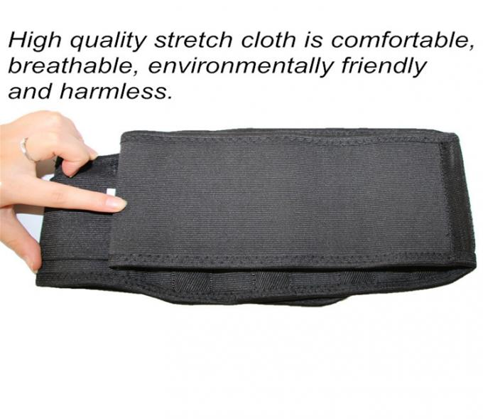 Black Magnetic Massage Belt Back Support Belt Medical Belly Waist Shaper