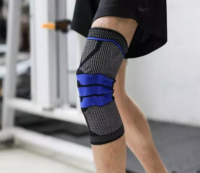 Protection Sports Knee Support Brace Nylon Material Eco - Friendly