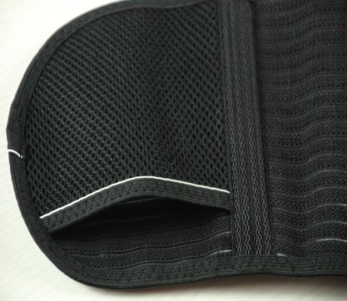 Customized Waist Back Support Belt , Lower Back Brace Spandex And Nylon Materials