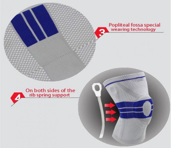 Knee Support Bracket Adjustable Patella Basketball Safety Shoulder Strap