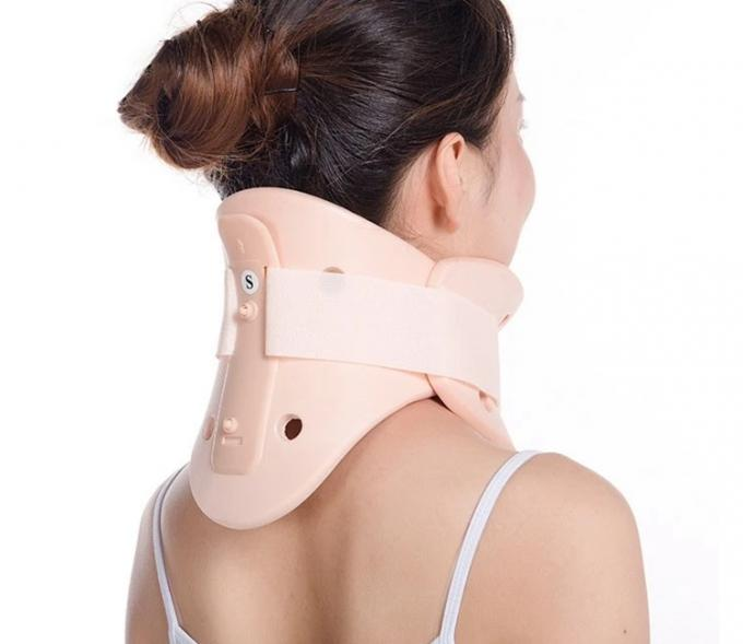 Comfortable PVC Rehabilitation Therapy Cervical Collar Neck Support Neck Brace
