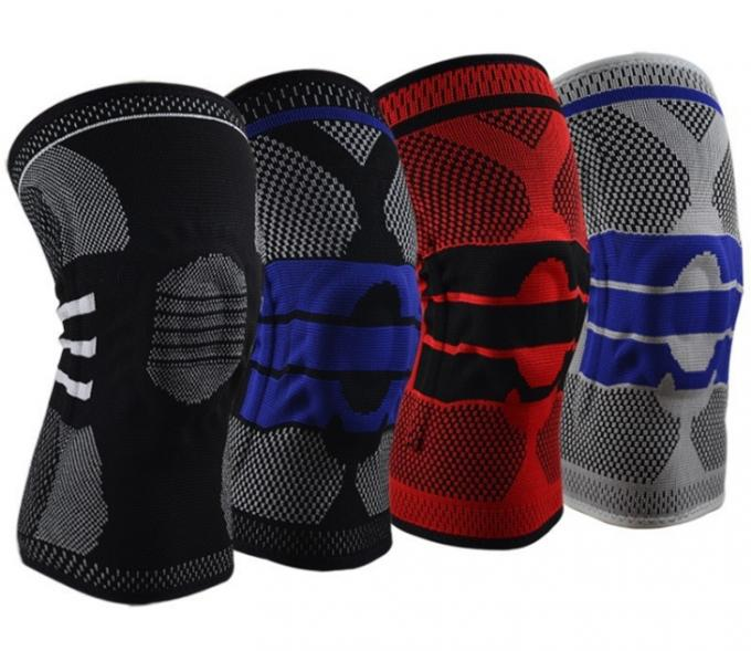 Comfortable Silicone Knee Brace Support Knee Pads For Sports Protection