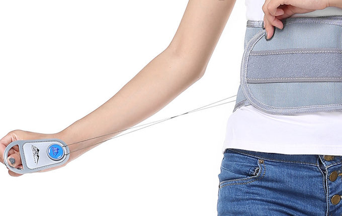 Woven Fabric Waist Support Belt / Lumbar Support Brace Perfect Fit Body
