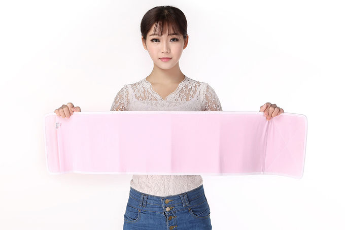 Soft Pink Color Postpartum Support Belt Uterine Contraction Belly Belt